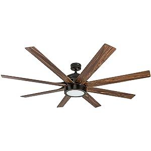 Honeywell Ceiling Fans 50609-01 Xerxes Ceiling Fan 62 Oil Rubbed Bronze