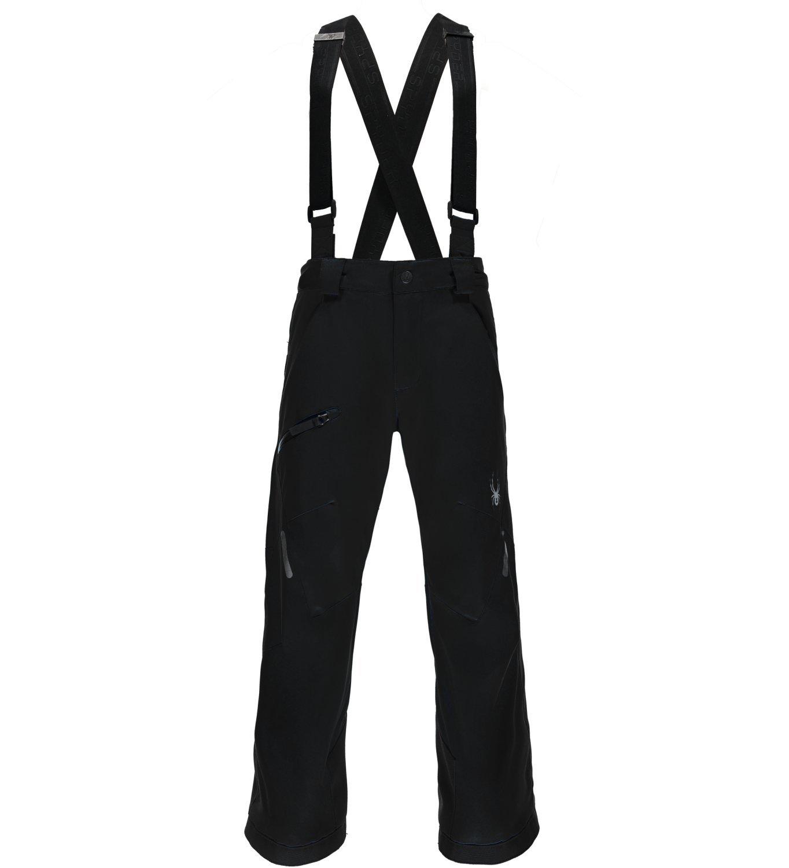 Spyder Boy's Propulsion Ski Pant, Black, Size 16
