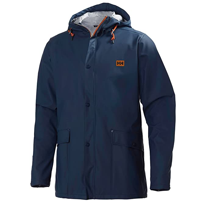 Helly Hansen Mens Lerwick Rain Jacket