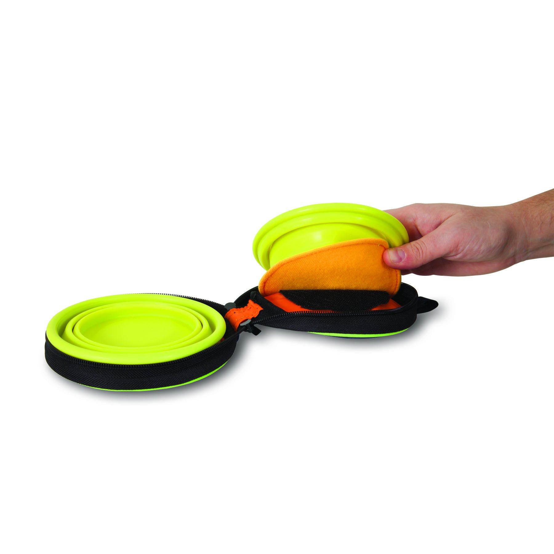 Petmate 3-Cup Silicone Duo Travel Bowl by Petmate (Image #3)