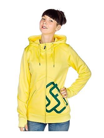 Special Blend - Sudadera de esquí para mujer, tamaño XL, color amarillo: Amazon.es: Ropa y accesorios