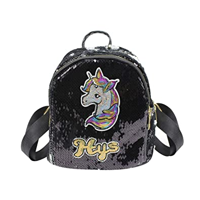 841966a8755f Bags us Women Girls Kids Dazzling Sequins Backpack with Cute ...