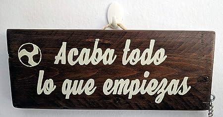 Cartel de madera frases motivadoras, empoderamiento ...