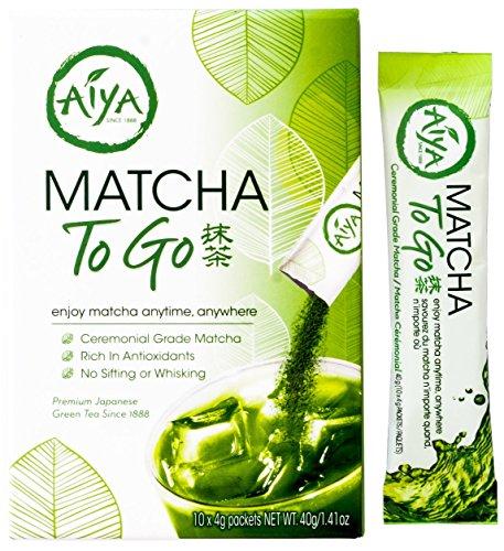 Aiya America - Matcha To Go - 10 Packets Per Box - 1 Box