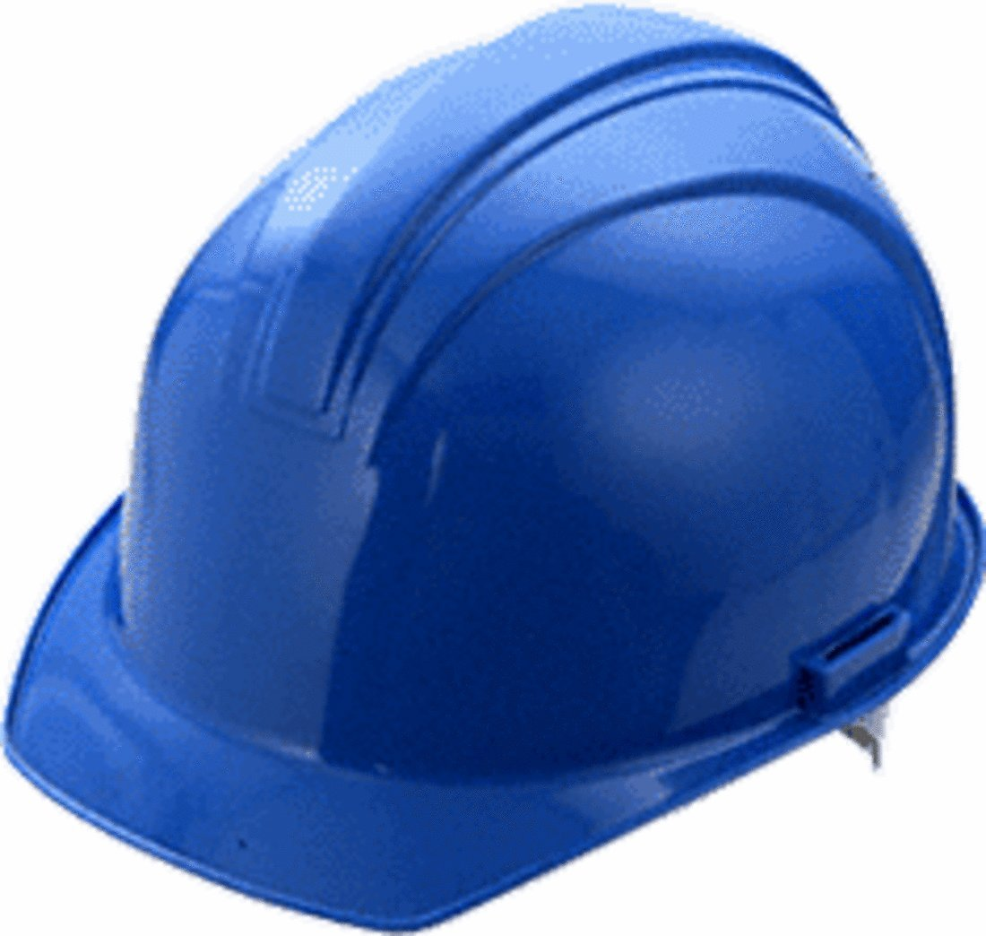CRL Blue Hard Hat (Safety Hat) by CR Laurence