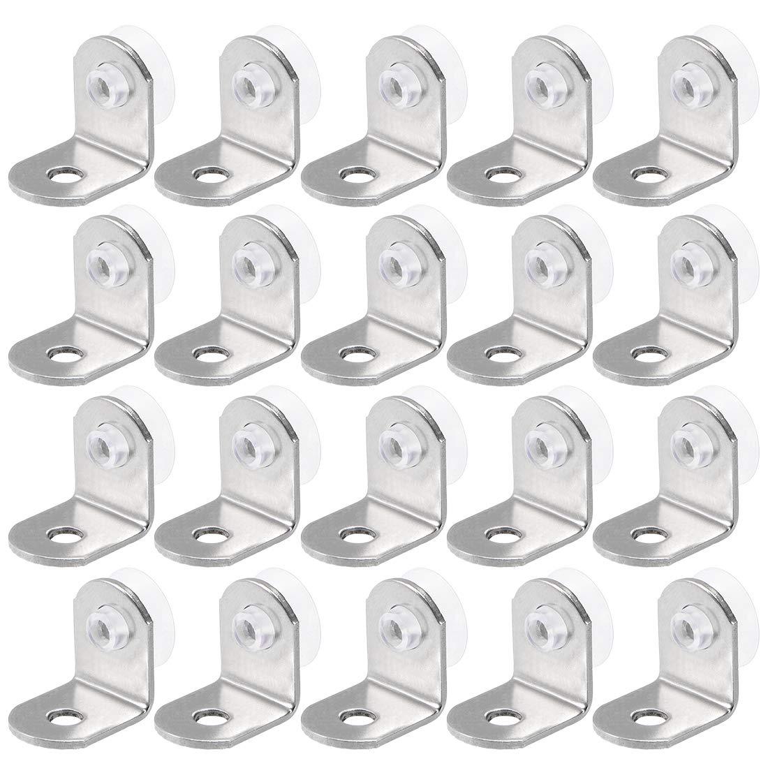 uxcell Shelf Pegs Cabinet Shelf Clips Shelf Holder Pins for Cabinet Furniture Book Shelves Supplies 10pcs