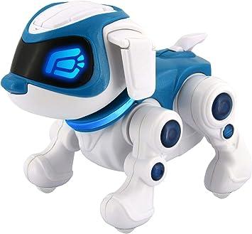 Splash Toys Teksta Puppy 360 Nouvelle Version Chien Robot Intéractif