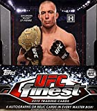 2013 Topps UFC Finest Trading Cards Hobby Box - 12 packs / 5 cards [Sept 11] - AUTO PER BOX review