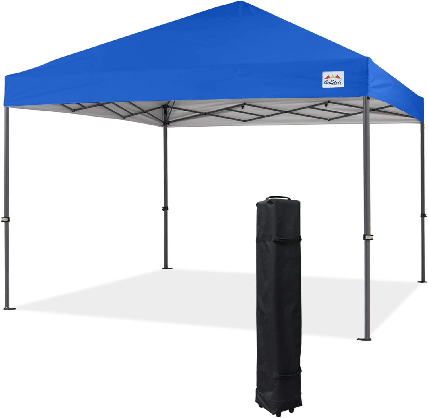 COOSHADE Heavy Duty Pop Up Canopy Tent 12x12Ft(RoyalBlue)