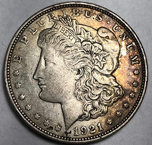1921 D Silver Morgan Dollar XF Extremely Fine