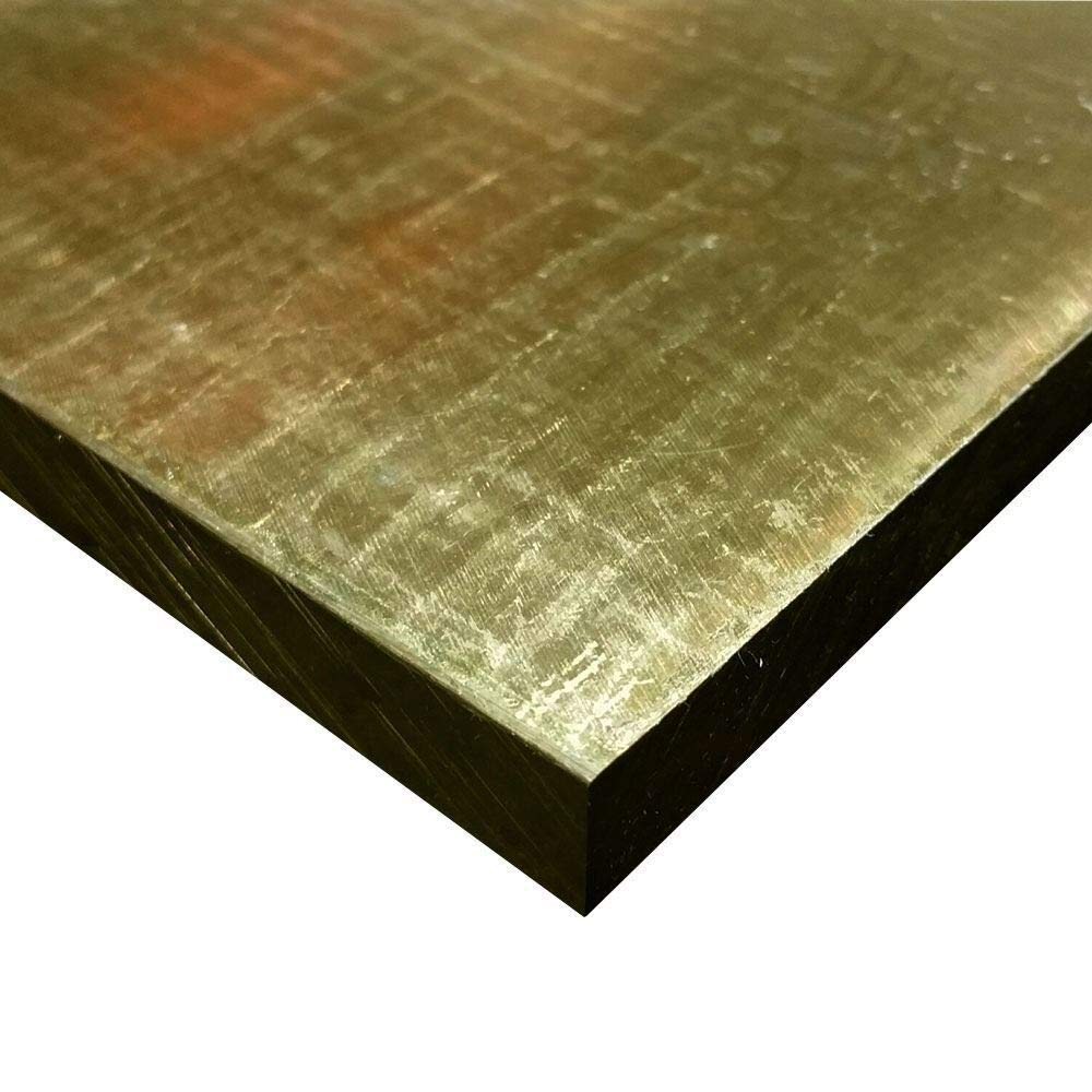 Online Metal Supply C464 Naval Brass Plate, 3/8'' x 7'' x 14'' by Online Metal Supply