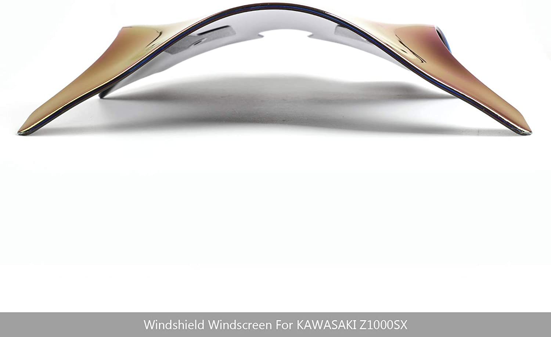 Areyourshop For Ninja 1000 Z1000SX 17-18 Standard Windshield Shield/Windscreen CHR