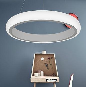 Ringleuchte Eine Ringe Hngelampe Wohnzimmer Modern Led Dimmbar Esstischlampe Rund Wohnzimmerlampe Pendelleuchten Decke Lampe Esstisch Licht