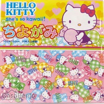 Amazon.com: Origami Paper- hello kitty Bonbon: Home & Kitchen