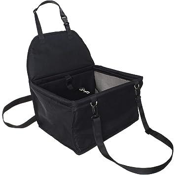 ... Coche Transporte de Automóvil Impermeable con Cinturón/Correa - Mascotas, Perros Pequeños, Gatos, Cachorros - Negro: Amazon.es: Productos para mascotas