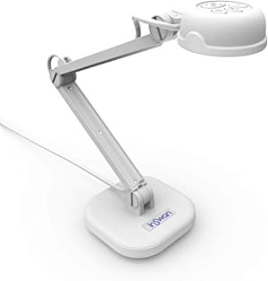 INSWAN INS-1 Tiny 8MP USB Document Camera with Auto-Focus and LED Supplemental Light, Excellent for Distance Education and Web Conferencing
