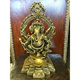 Ganesh Statue Ganesha Hindu Elephant God of Success - Remover of Obstacles 11""