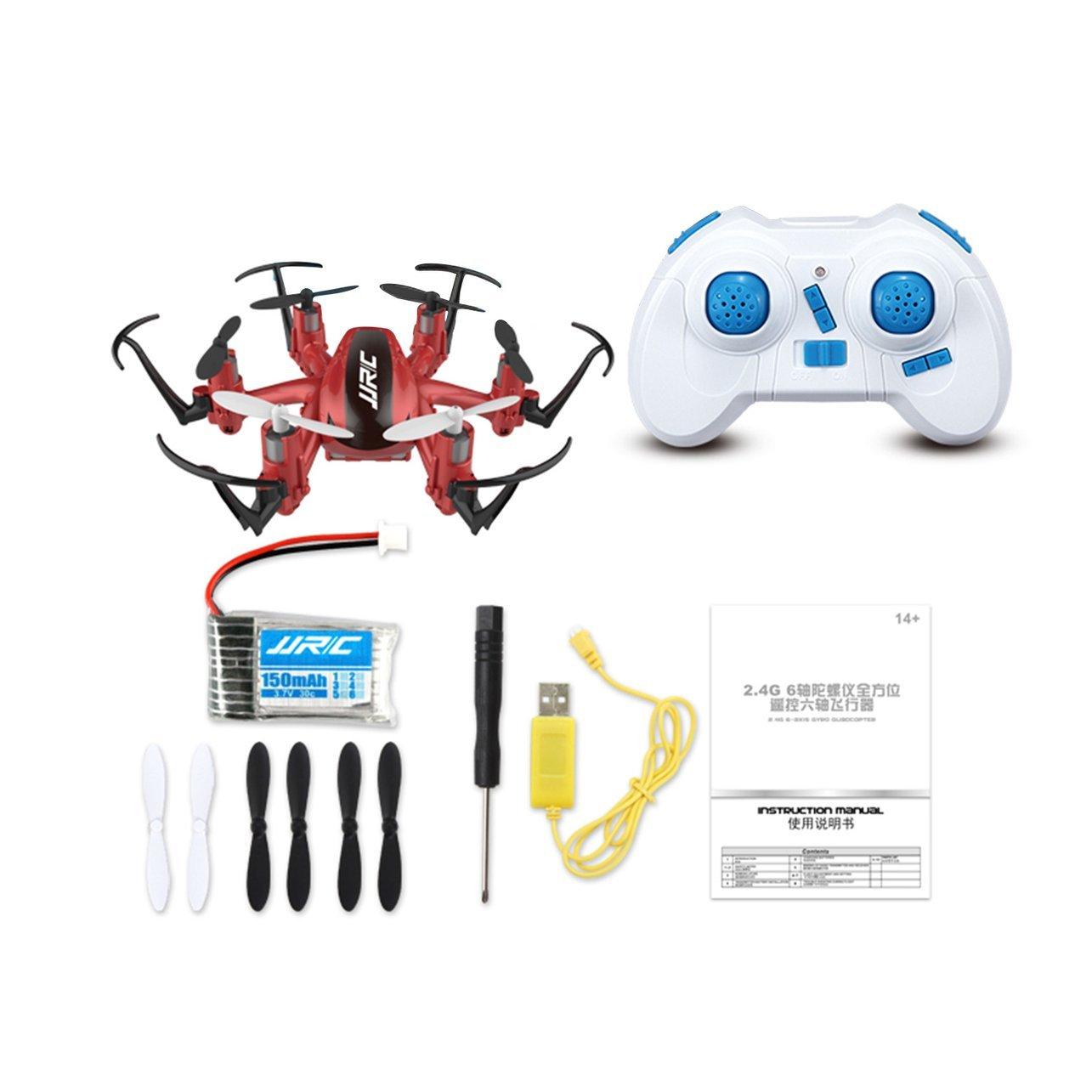 Handheld Games WOSOSYEYO JJR/C H20 2 4G 6-axis Gyro Mini Drone RTF