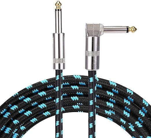 Cable de instrumento de guitarra Cable de guitarra 3 m Teclado ...