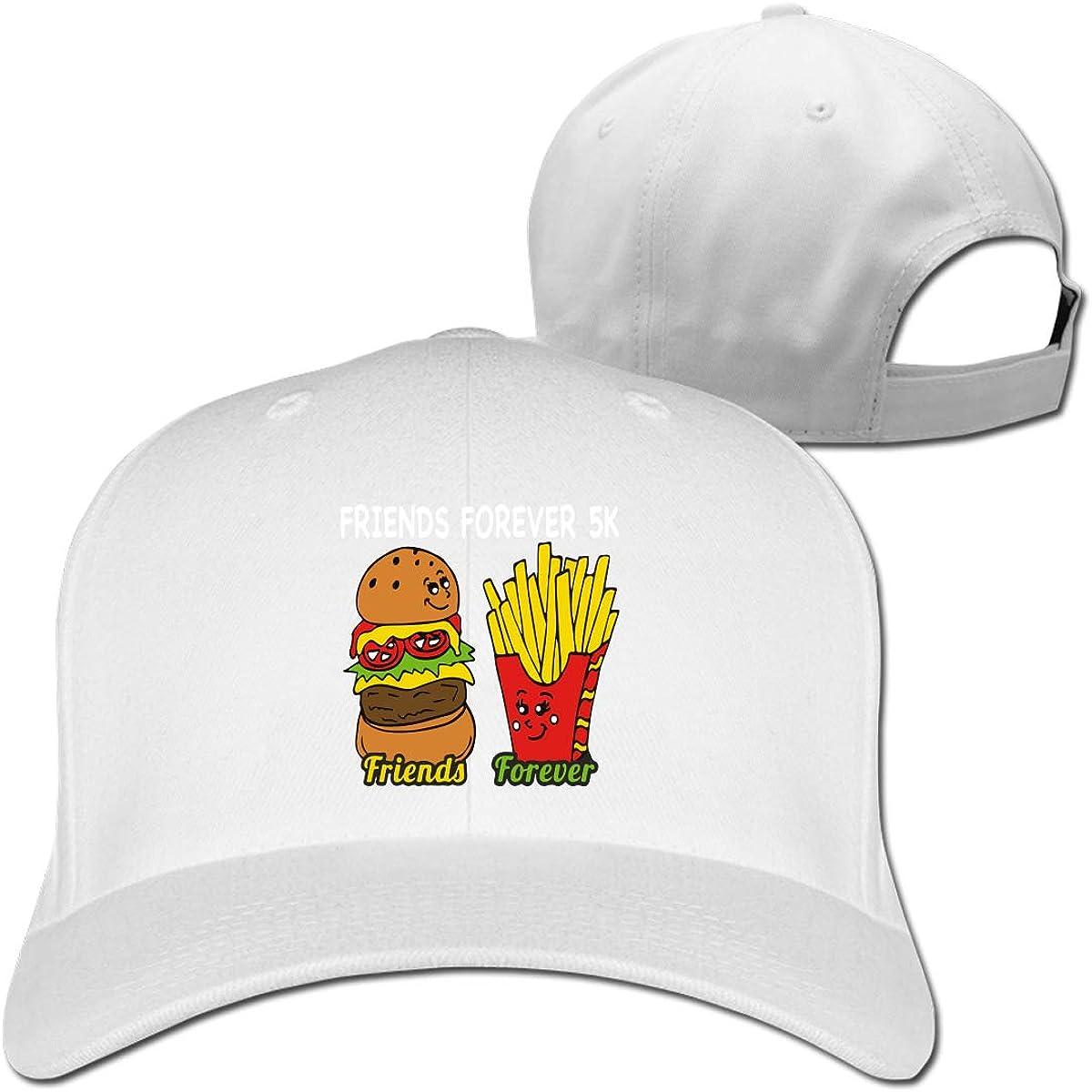 Friend Forever 5K 1 Unisex Pure Color Baseball Cap Classic Adjustable Sun Hat