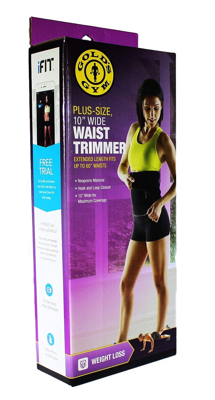 acf901699a Amazon.com  Waist Trainer and Trimmer Belt For Men   Women Plus-Size 10