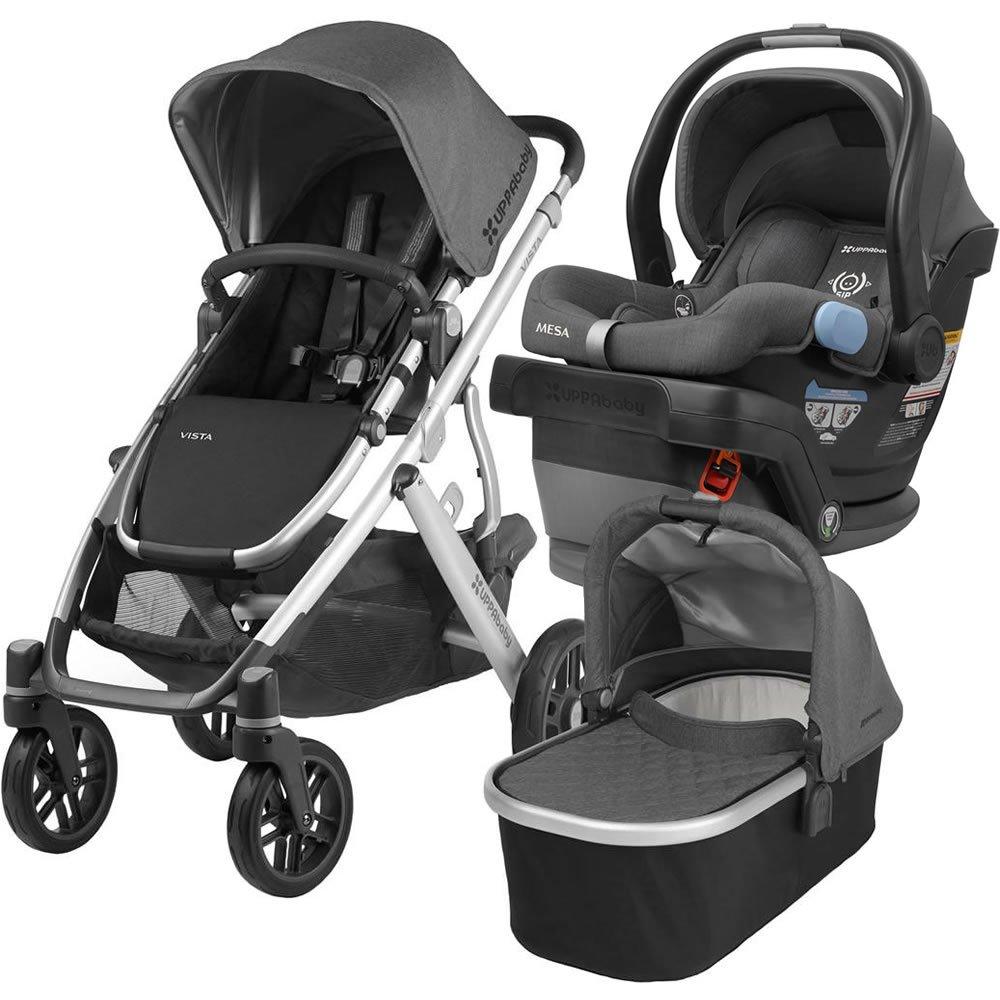2018 UPPABaby Vista Stroller - Jordan (Charcoal Melange ...