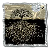 All My Walls Abstract Tree Metal Wall Art Landscape Contemporary Home Decor Sun Modern Wall Sculpture