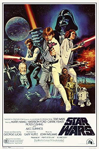 Buyartforless Star Wars - Episode IV New Hope - Classic Movie Poster 24 x 36in
