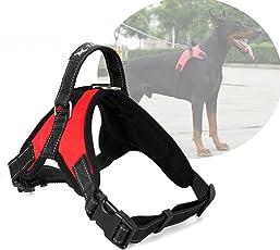 ATOMZONE Arnés para perro ergonómico con correa ajustable - Máxima protección y comodidad para tu mascota en todo momento (MEDIANA)