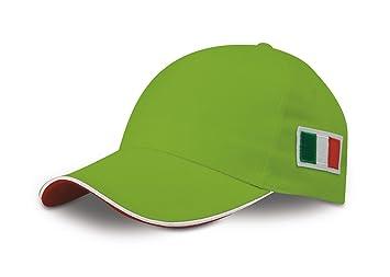 n.d. Sombrero Gorra Bordado Bandera Italia Gorra Tricolor Verde ...