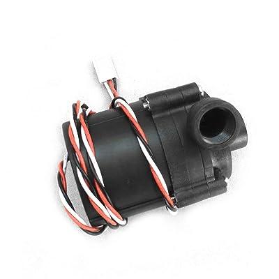 """bienddyicho Bomba de Agua Sc600 12V DC 500 L/H G1 / 4""""Entrada y Salida para enfriamiento por Agua Bomba enfriadora de Conector de alimentación de 3 Clavijas -Negro: Jardín"""
