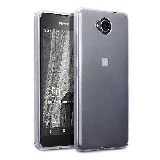 56 opinioni per Terrapin TPU Gel Custodia per Microsoft Lumia 650 Skin, Colore: Trasparente