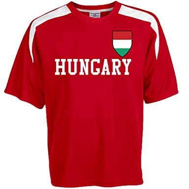 f093a6115 Customized Hungary Soccer Jersey Adult Small in Scarlet Red and White