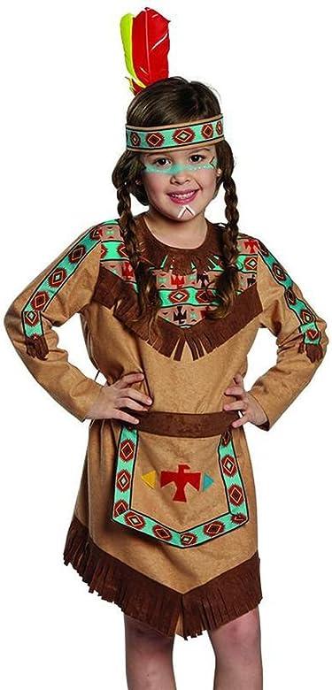 Cinta indio para niños turquesa de color marrón indios Disfraz ...