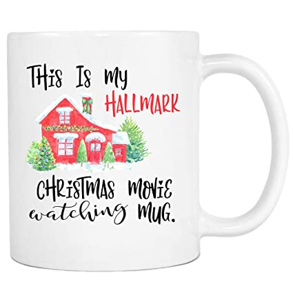 hallmark movies hallmark christmas mug christmas mug christmas gift dirty santa gift - Amazon Christmas Movies