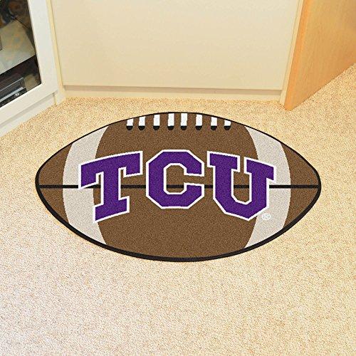 Fanmats Sports Team Logo Design Texas Christian Football Rug ()