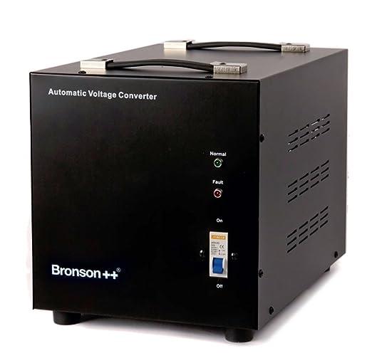 5 opinioni per Bronson++ AVT 10000- Convertitore di tensione 110/120 Volt- Trasformatore di