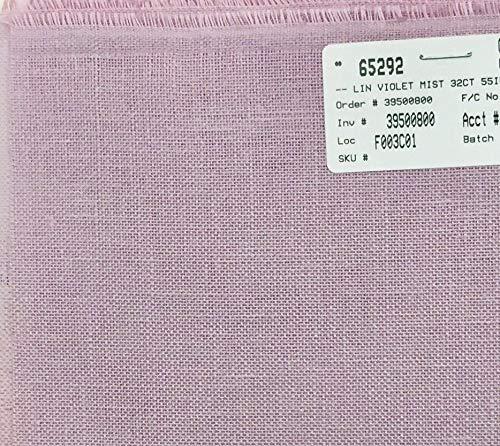 Wichelt Permin Premium AIDA Cross Stitch Fabric 16 Count Graceful Grey 18 x 25