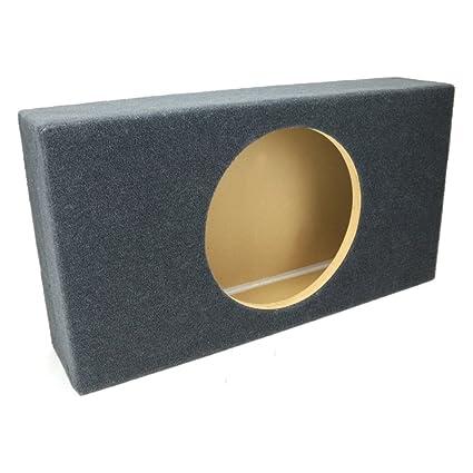 0 65 ft^3 Sealed Shallow-Mount MDF Sub Woofer Enclosure for Single JL Audio  12