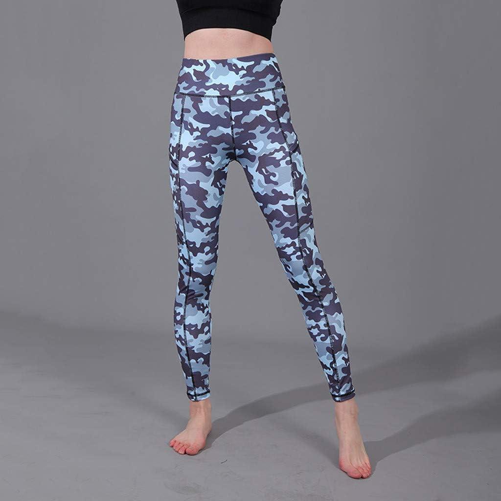 L,White Redacel Womens High Waist Printed Yoga Pants Full-Length Tummy Control Workout Running Fitness Leggings
