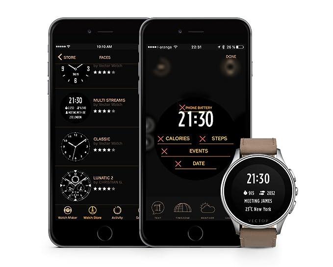 Amazon.es: Vector Watch L1 - 10 - 008 - Meridian Smart Watch ...