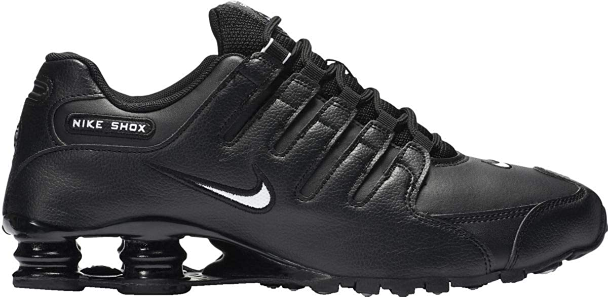 best value d74b7 ed1af Nike Men's Shox NZ Running Shoe Black/White-black - 12.5 D(M) US