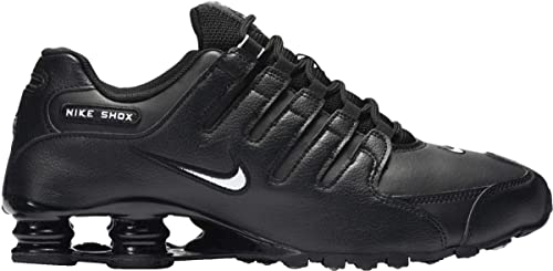 ea0f5383777 Image Unavailable. Image not available for. Colour  Nike Men s Shox NZ EU  Black White 501524-091 (SIZE  ...