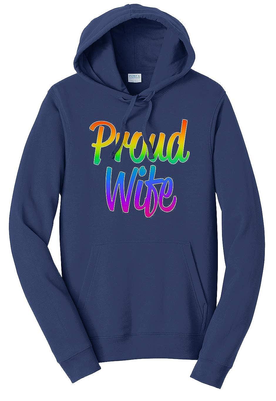 Tenacitee Unisex Proud Wife Sweatshirt