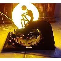 Diorama Luminária O Estranho Mundo de Jack filme Tim Burton Jack Skellington