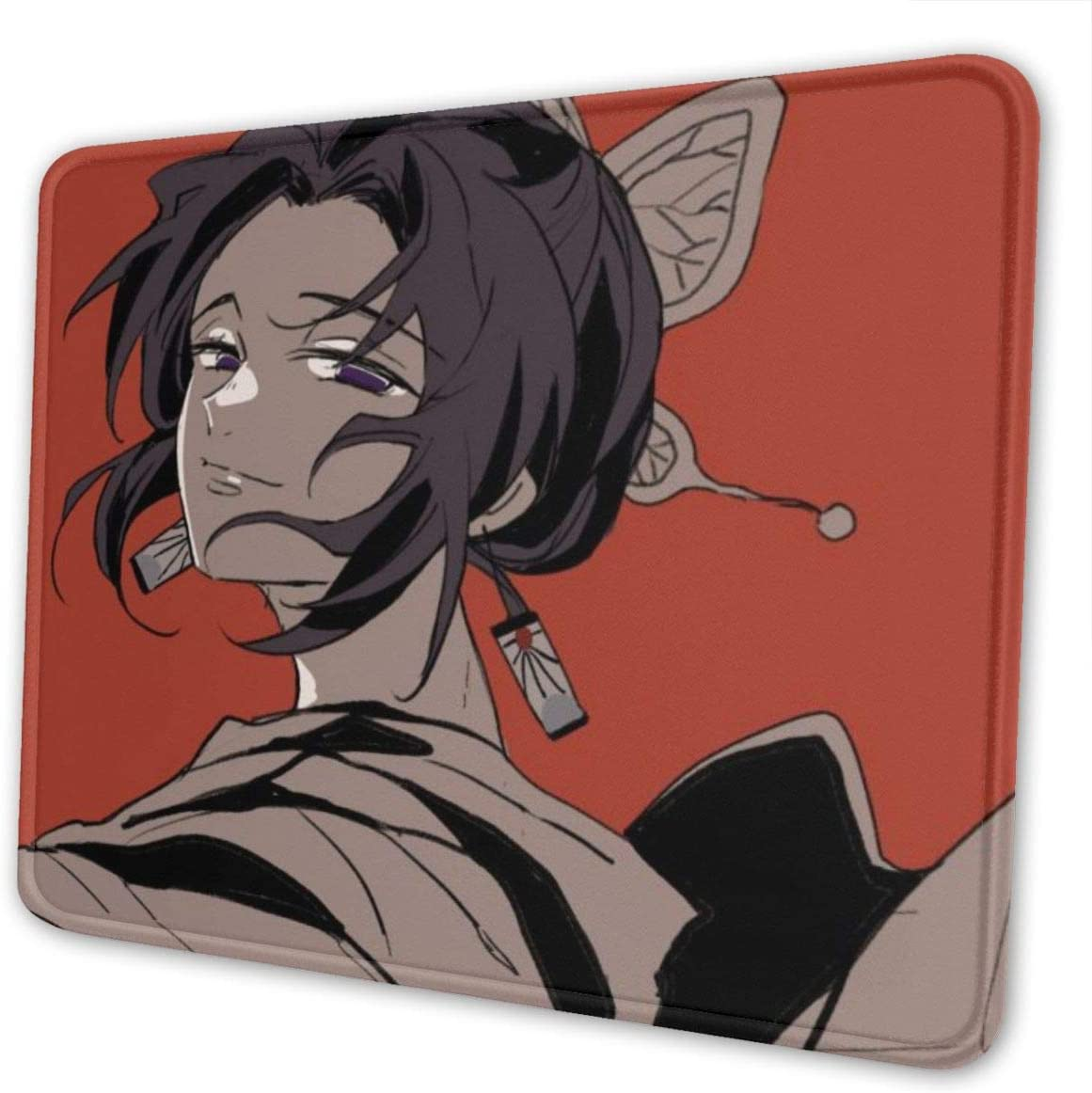 TGRNF De-mon Slayer Kochou Shinobu Game Keyboard Mouse Pad for Computer Desktop PC Laptop Anime Beautiful Stylish