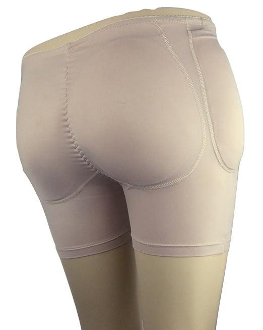 Softleaves B600 Glúteos y Cadera Acolchado Bragas Relleno Full Set Contiene Bolsillos Pantalones y un Dos