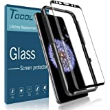 TOCOL Screen Protector for Samsung Galaxy S9, [3D Curved] [Alignment Frame Easy Installation] [Full Coverage] 9H Hardness [Anti-Scratch] [Anti-fingerprint] [Anti-Bubble] Tempered Glass with Lifetime W