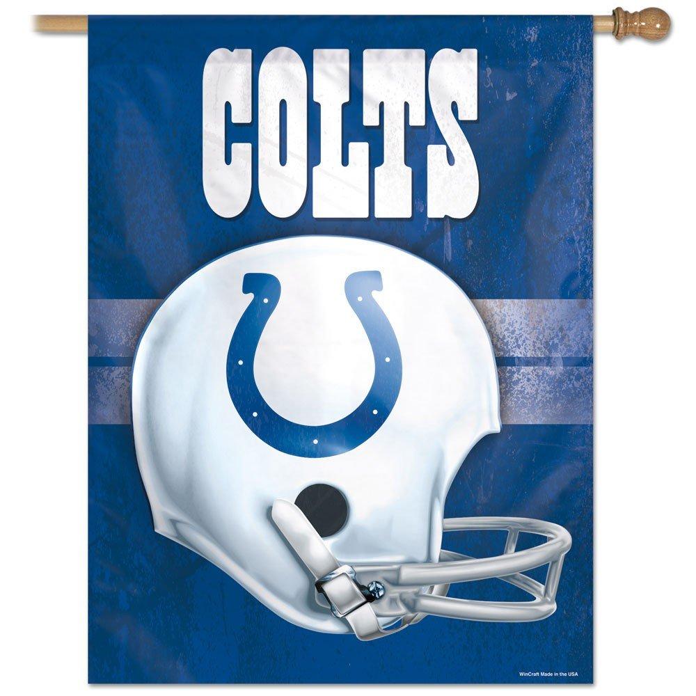 NFL Indianapolis Colts 27-by-37-inch垂直flag-helmet   B0033JPHWQ, モセウシチョウ 083c2b95