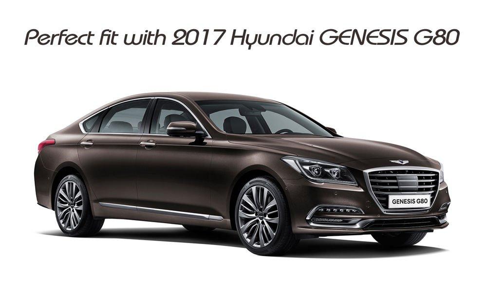 AutomotiveApple 86320B1600 Front Hood Emblem For Hyundai Genesis G80 201713582301 AMHM0797